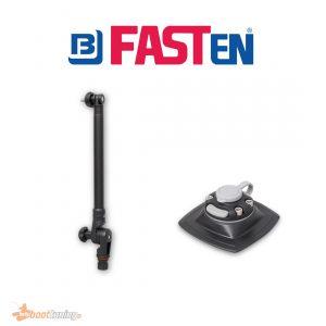 Fasten Dieptemeter Transducerstang (300 mm) + Houder [PVC Basis] 110 x 110 mm
