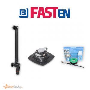Fasten Dieptemeter Transducerstang (300 mm) + Houder [PVC Basis] 110 x 110 mm + Lijmset