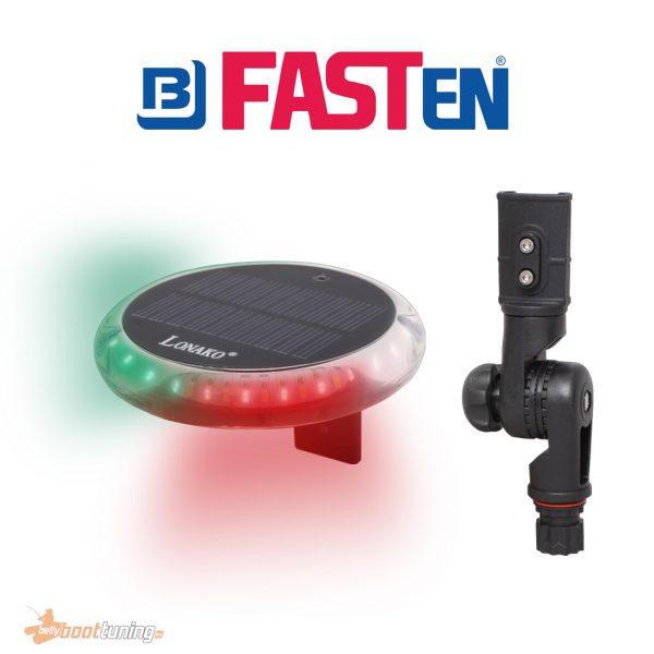Monaco LED lamp with fasten adapter tiltable