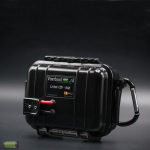lithium battery fishfinder black