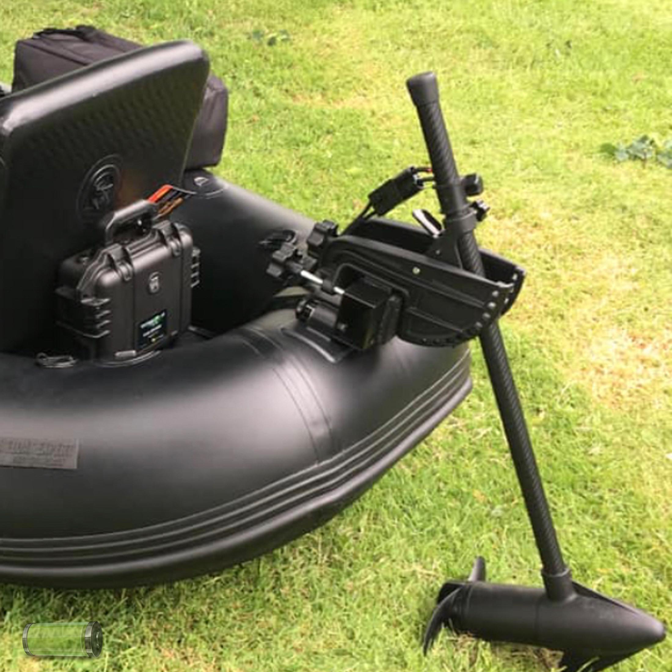 Fluistermotor Minn Kota Endura 12V 40lbs voor Belly Boat 91,4cm