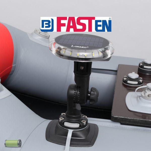 Positielamp voor Bellyboot Lonako 3 Kleuren LED + Fasten Steradapter Verstelbaar