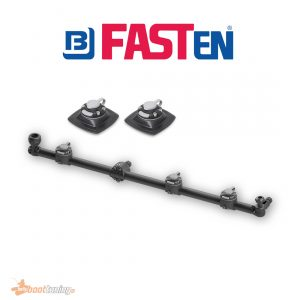 bellyboat rail with fasten PVC Base