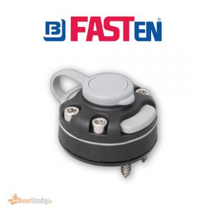 fasten holder with base for screw mount on flat surface