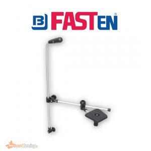 fasten Transducer holder with adjustable rod and platform