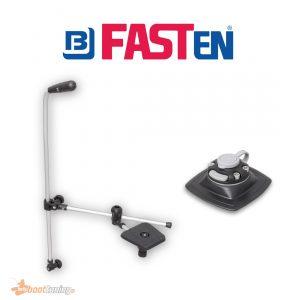 fasten transducer holder with adjustable rod and platform + gluepad