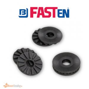 Fasten discs 6X to change the tilt angle settings 27° or 7
