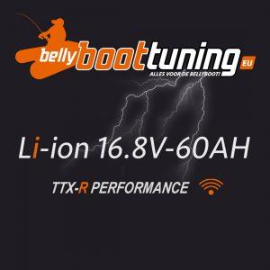16V60Ah bellyboat battery